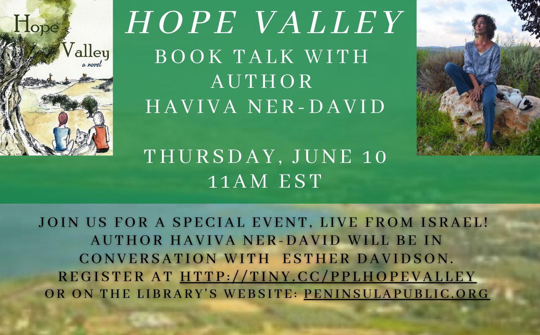 Hope Valley Book Talk Peninsula